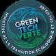 Logo green tech verte