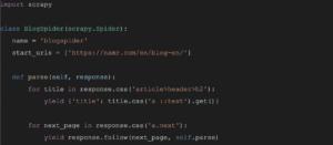 web scraper namR