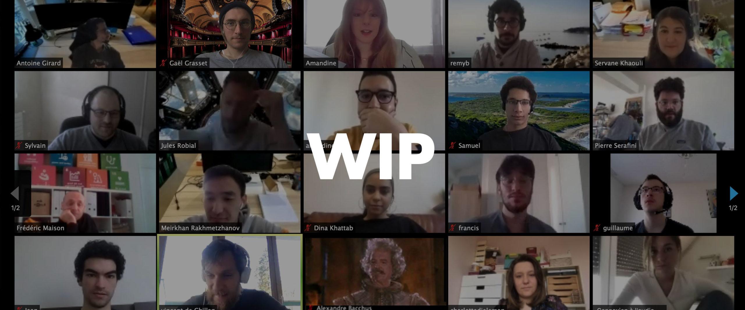 startup confinement namR equipe