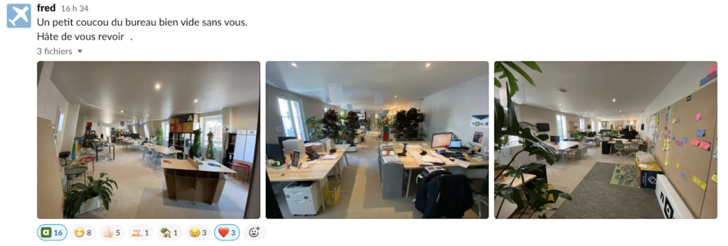 confinement startup slack namR